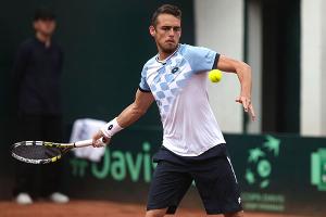 Saez eliminado en singles, pero avanza en dobles en Futuro español
