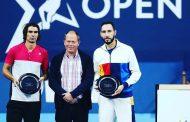 Julio Peralta cayó en la final del dobles del ATP de Amberes