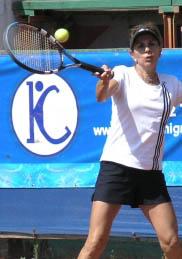 Chilena Leyla Musalem es la nueva número uno del mundo en tenis senior