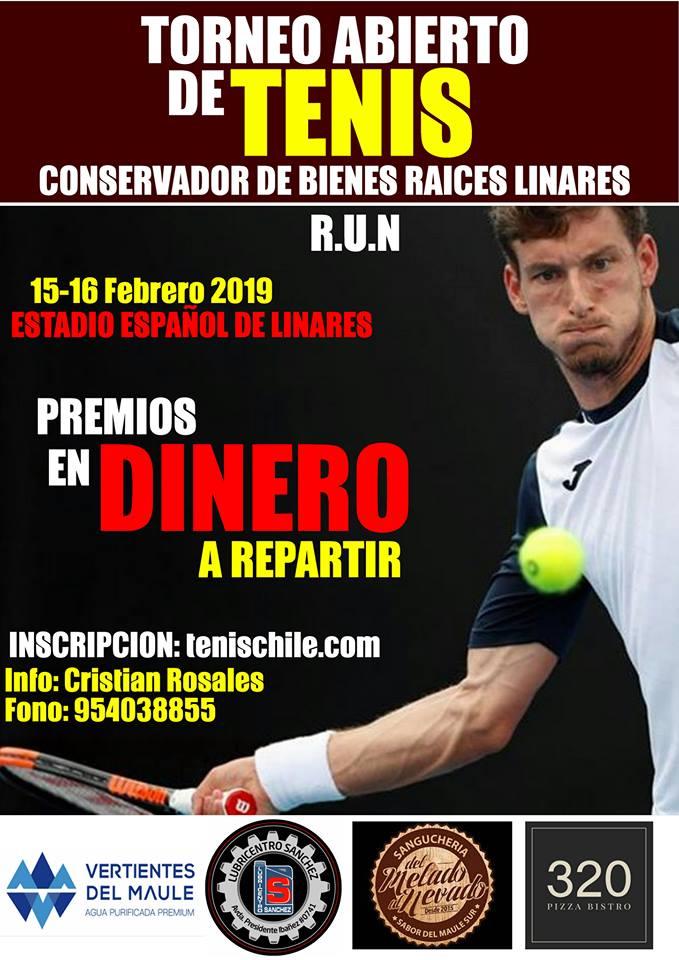 Grandes premios a repartir en Open Gold de Linares
