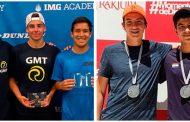 Nacionales disputaron finales en dos frentes del circuito internacional junior