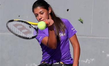 Cabrillana ganó el cuadro de dobles y jugará la final de singles del ITF de Francia