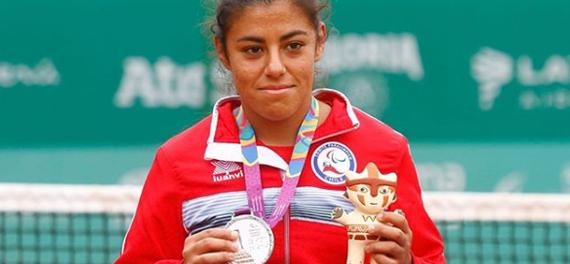 Macarena Cabrillana se colgó la medalla de plata en los Parapanamericanos de Lima