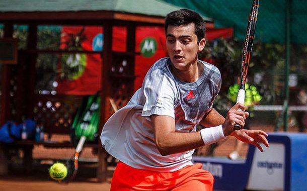 Tomás Barrios se inclinó ante Roberto Carballés en segunda ronda del Challenger de Biella