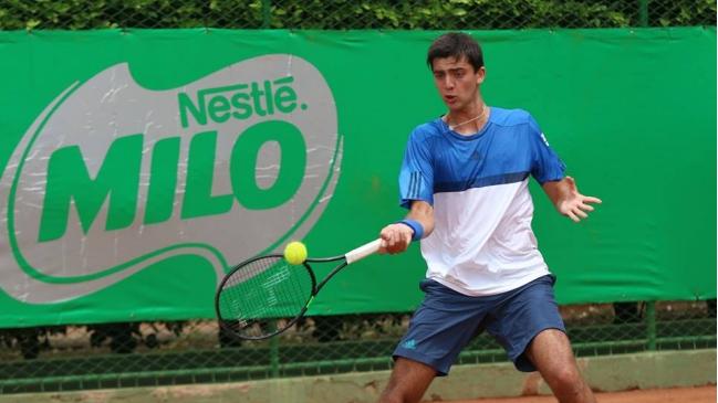 Tomas Barrios cayó ante italiano Quinzi y quedó eliminado en el Challenger de Szczecin