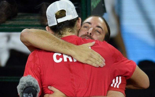 Nicolás Massú y la serie ante Eslovaquia por Copa Davis: