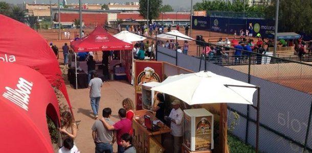 Las instalaciones de Massú Tenis ya palpitan el arribo del Circuito Motorola Travel Tenis G1