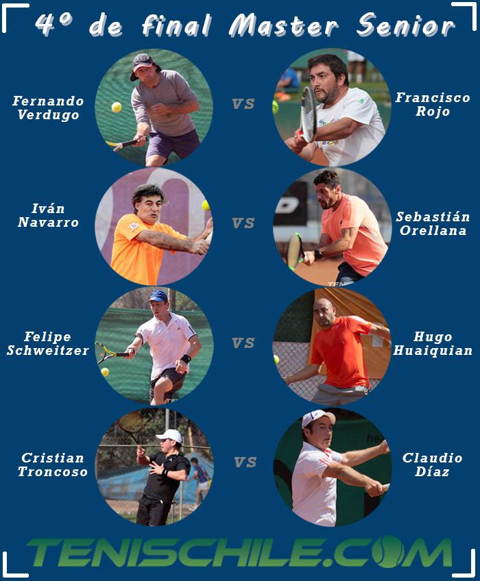 Master Senior tiene a sus 8 mejores tenistas