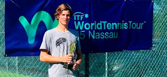 Gaedechens logró en Bahamas su segundo título de manera consecutiva
