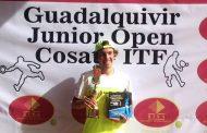"""Miguel Ángel Cabrera y su primer título ITF: """"Estoy emocionado, la final fue durísima"""""""