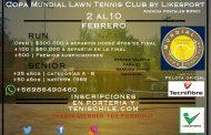 Fiesta del Tenis en el Mundial Lawn Tennis Club en la comuna de Santiago