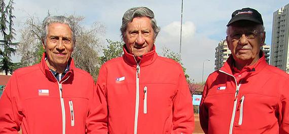 Varones se quedaron con su grupo en el Mundial Super Seniors en Croacia