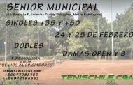 Senior en el Club Tenis Municipal