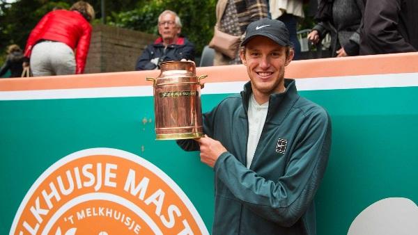 Jarry campeón invicto en Holanda