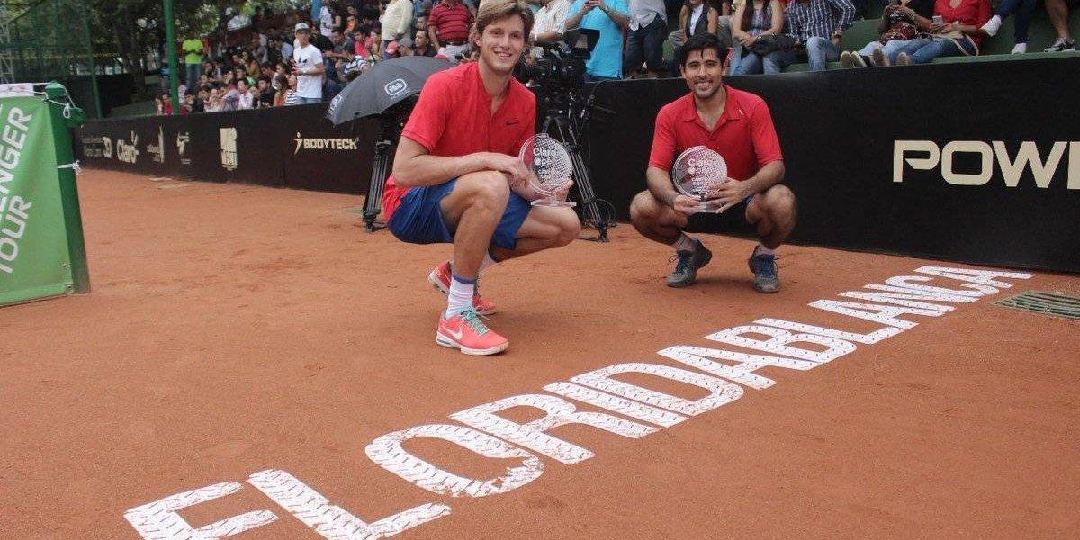 Nicolás Jarry se coronó campeón en dobles del Challenger de Floridablanca