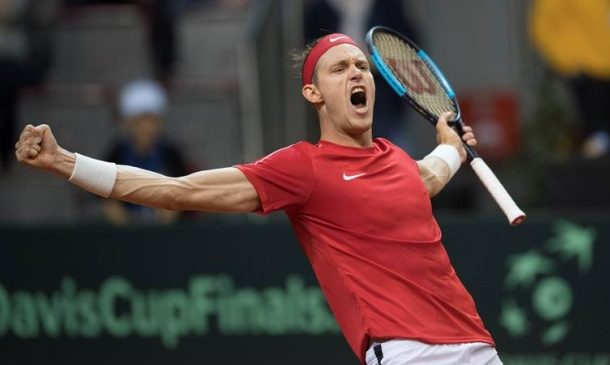 Nicolás Jarry fue elegido como el jugador más valioso de la última jornada de Copa Davis