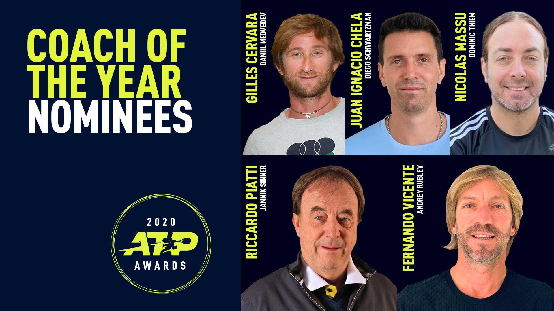 Por 2° año consecutivo Massú es nominado a mejor entrenador del año