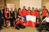 Delegación de Olimpiadas Especiales Chile viaja al Invitacional Mundial de Tenis en República Dominicana