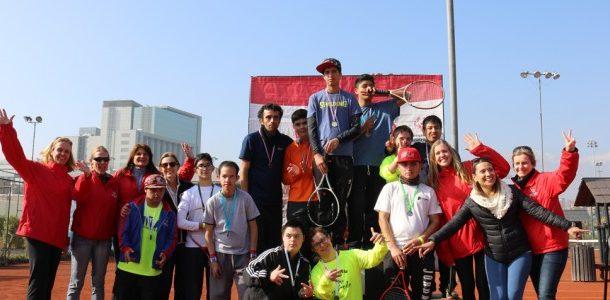 84 atletas dieron vida al Campeonato Nacional de Tenis Olimpiadas Especiales Chile