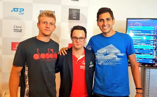Thomas Heyl, el medallista olímpico chileno, en el Chile Dove MenCare Open