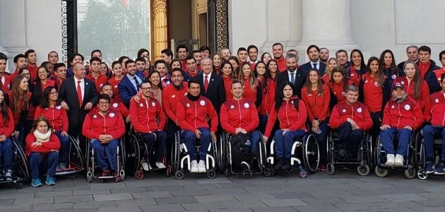 Autoridades despidieron al Team Chile a días de Lima 2019