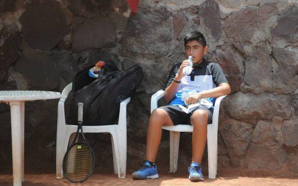 Patricio Rivera y su lucha por hacerse un nombre en el tenis