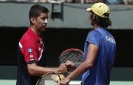 Peralta y Podlipnik pierden con rivales de peso en torneos Challenger