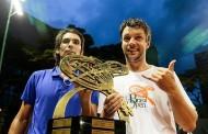 Julio Peralta es #1 de Chile en el ránking de dobles tras el título en Sao Paulo