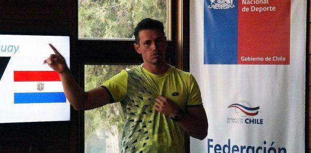 """El plan """"Asunción"""" partió hoy en la Federación de Tenis de Chile"""