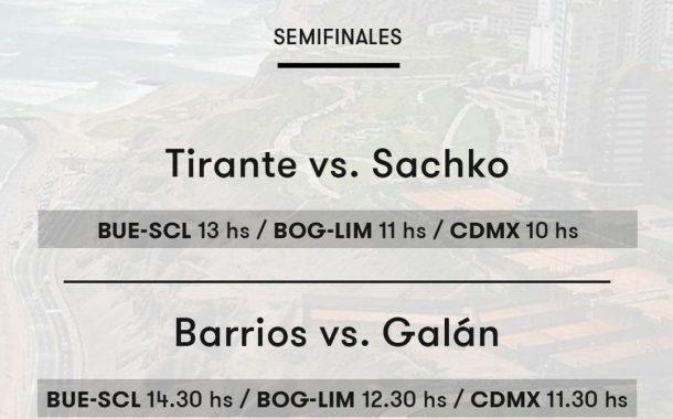 Link y horario para las semifinales de Barrios en Lima