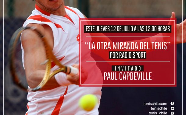 Paul Capdeville hoy en Radiosport.cl
