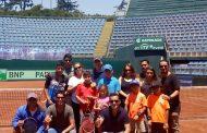 Copa Davis: Día del tenis Junior marca re inauguración del court central Anita Lizana