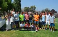 Lujan y Arriagada campeones en Copa Reinita