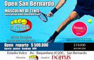 $500.000 a repartir en Open de San Bernardo