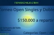 Torneo Singles y dobles
