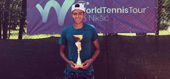 Sebastián Defilippis conquistó el Trebjesa Open 2019 en sencillos