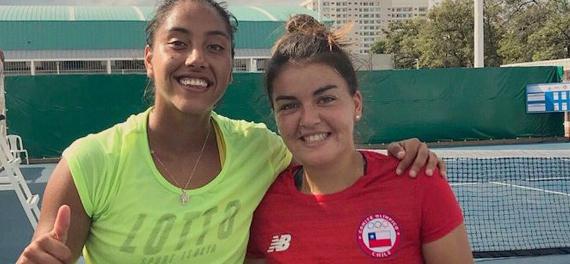Daniela Seguel y Fernanda Brito son semifinalistas en los Juegos Bolivarianos