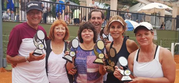 Chilenos destacan en el Seniors de Porto Alegre y ya piensan en la Copa Alfredo Trullenque