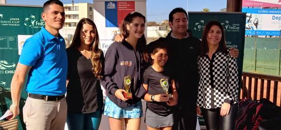 Con las finales individuales masculinas concluirá el torneo COSAT de Concón