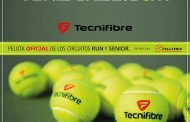 Tecnifibre es la pelota oficial de los torneos RUN