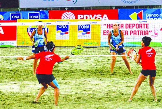 Chile se quedó con el puesto 17 del Mundial de Tenis Playa 2018