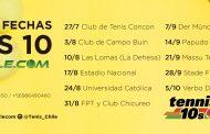 Concón fue sede de una nueva fecha del tenis 10-12-14