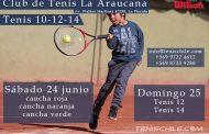 Tenis 10-12-14 en La Araucana