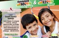 Tenis 10 y 12 en Estadio Español