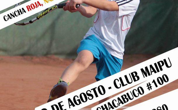Club Maipú será la sede de una nueva etapa del Circuito nacional Tenis 10