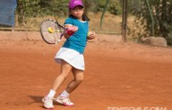 Se jugó primer torneo Tenis 10 en canchas de la Federación