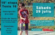 Hurtado, Valenzuela, Vicencio y Ceballos se quedan con los honores en Tenis 10