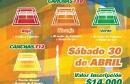 Tenis 10 y Tenis 12 en Zapallar