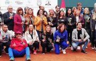 Chilenos se tomaron el podio del Torneo Seniors Terrazas en Lima