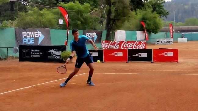Tomás Barrios y Alejandro Tabilo avanzaron a semifinales el Futuro Chile 3
